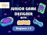 Junior game designer with scratch (Beginner 1-3)